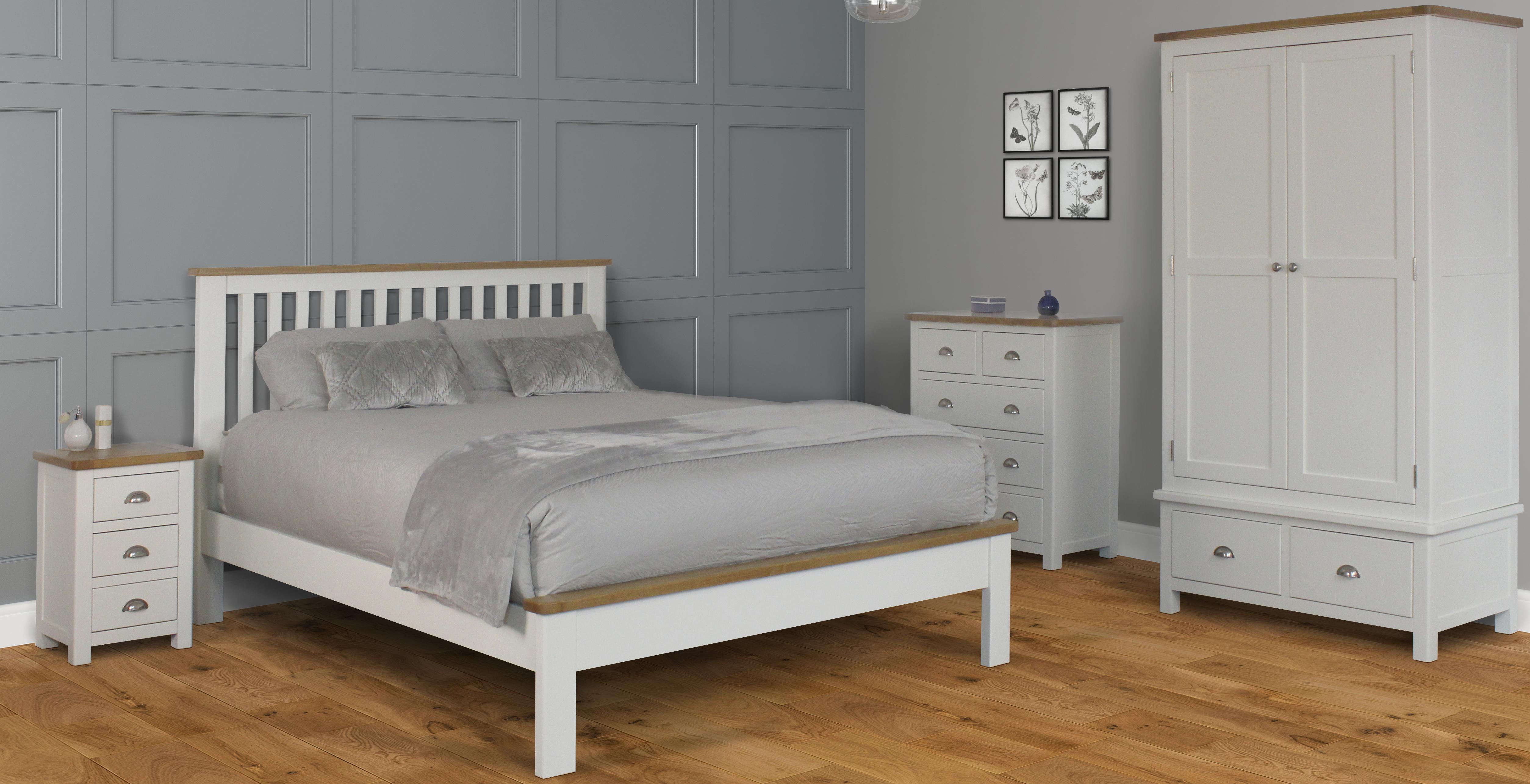 Portland Bedroom White