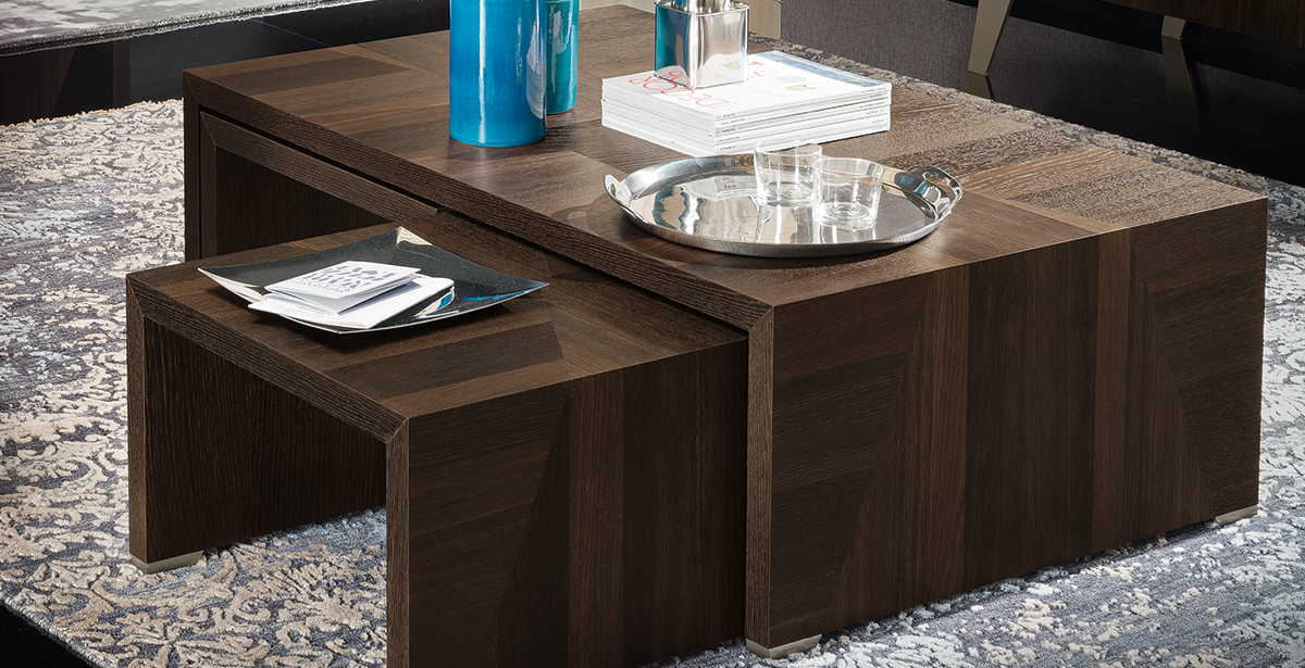 Dark Wood Coffee Tables