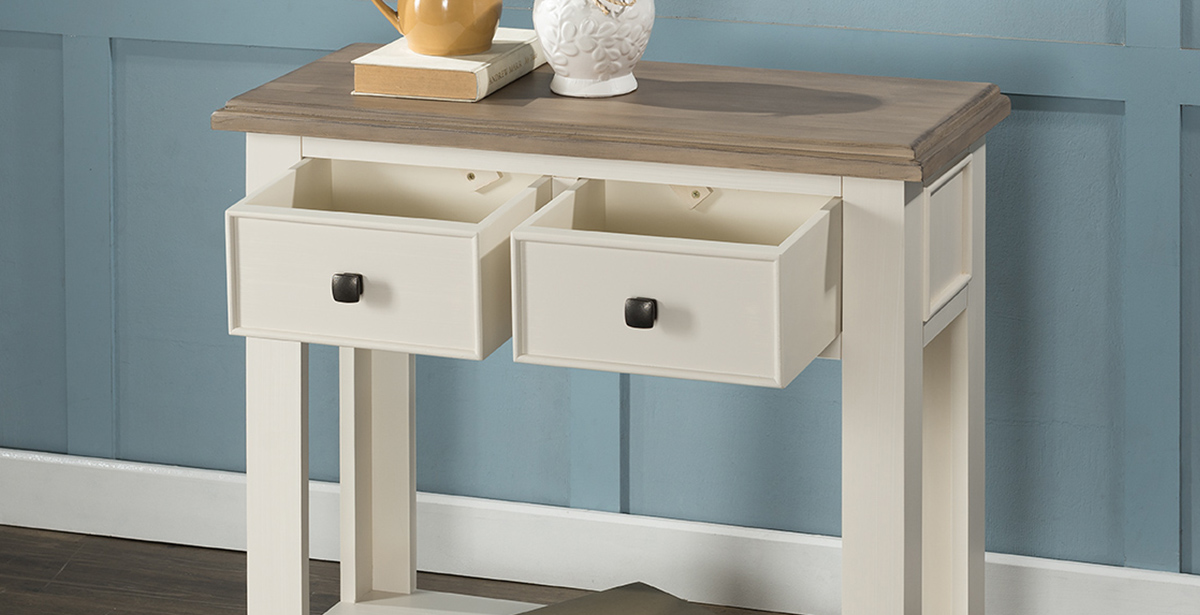 Painted Wood Console Tables