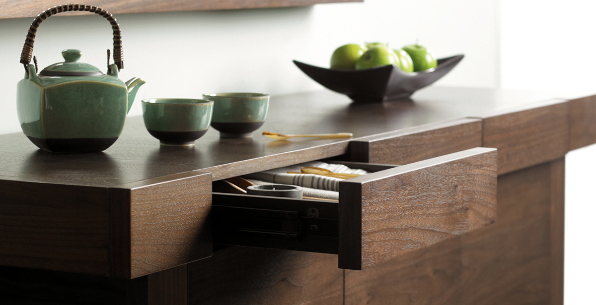 Dark Wood Console Tables