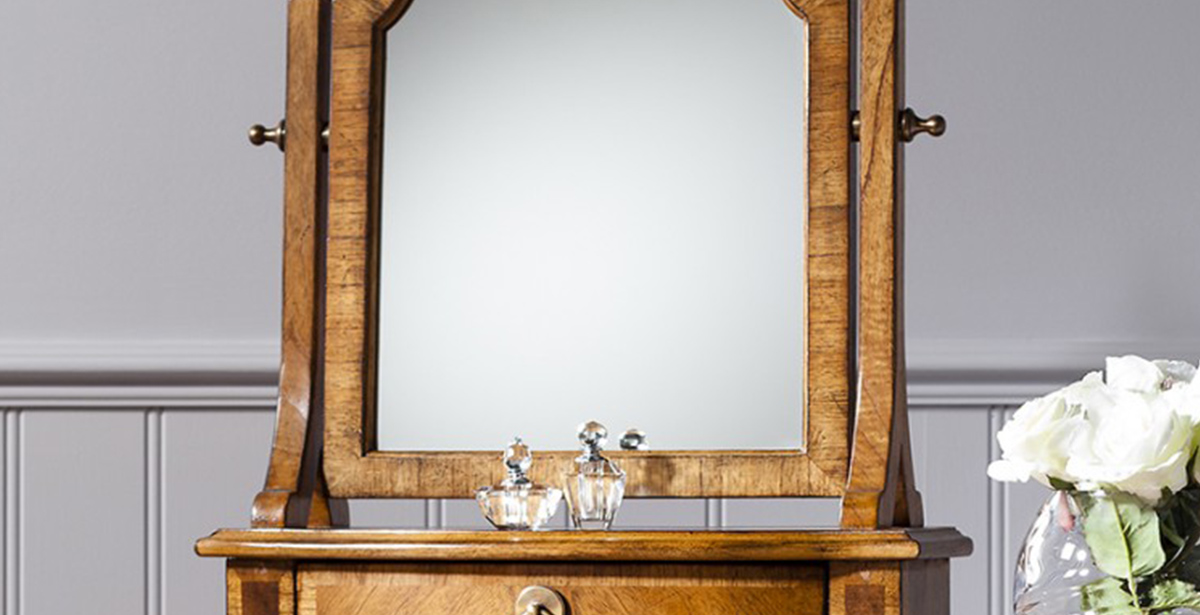 Dark Wood Dressing Table Mirrors