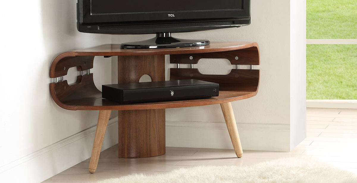 Dark Wood TV Units