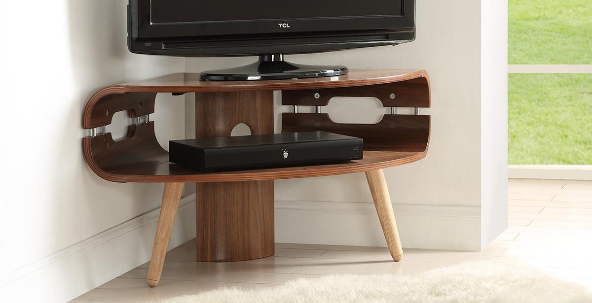 Dark Wood TV Units