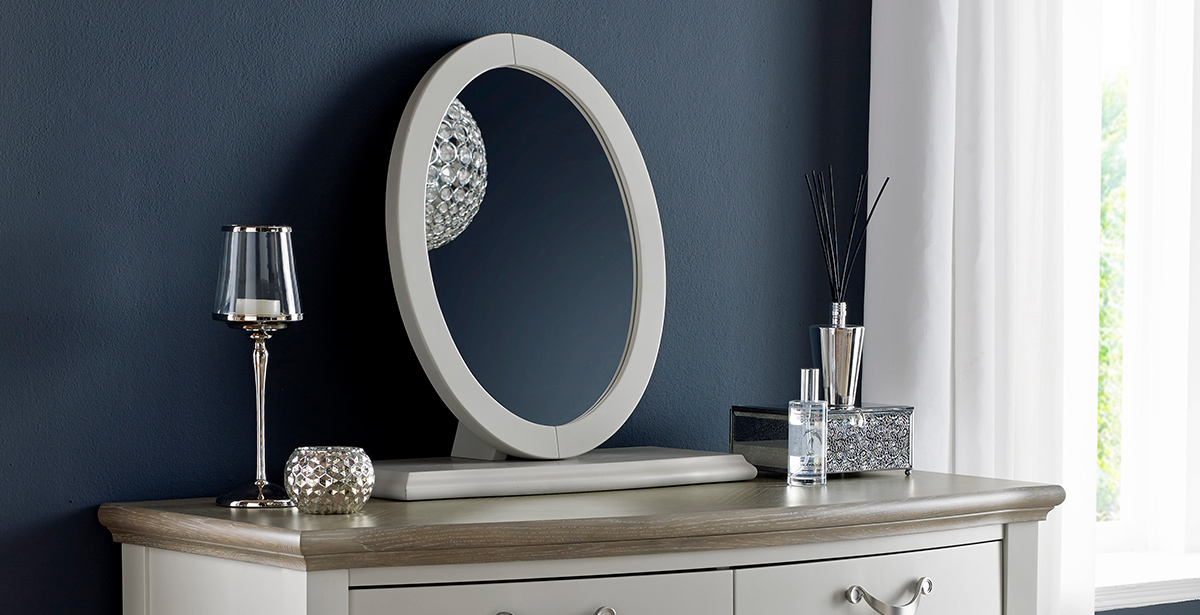 Painted Wood Dressing Table Mirrors