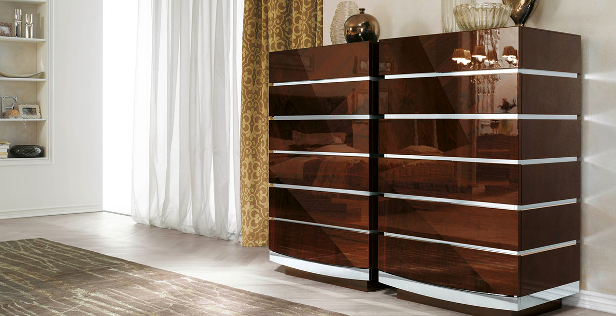 Gloss Chest of Drawers