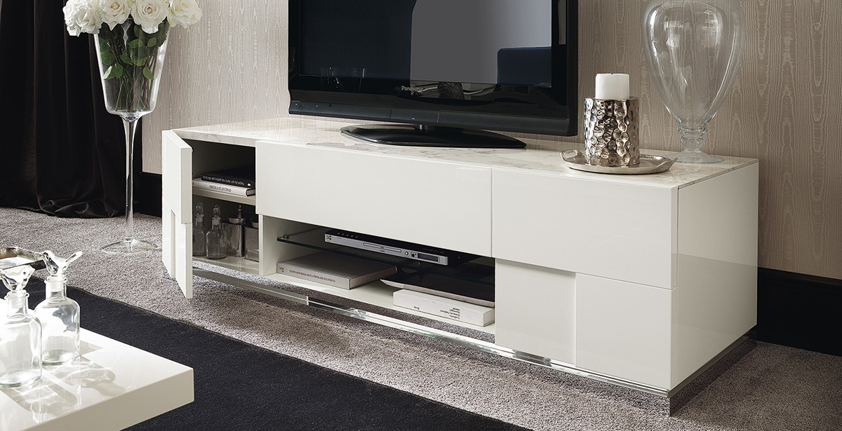 High Gloss TV Units