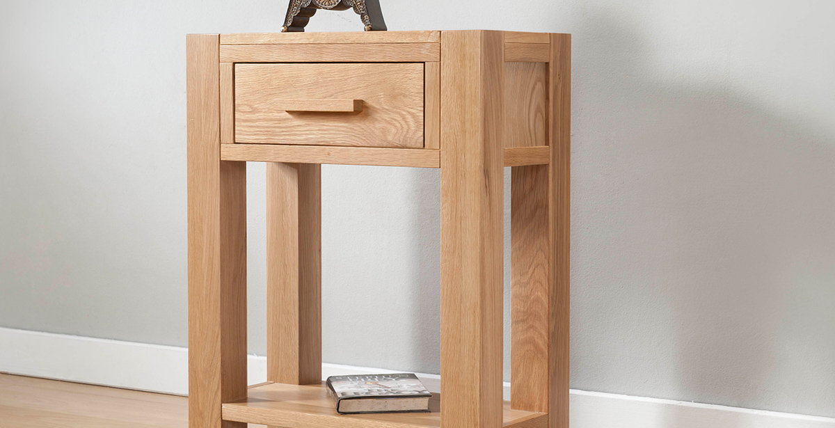 Light Wood Console Tables