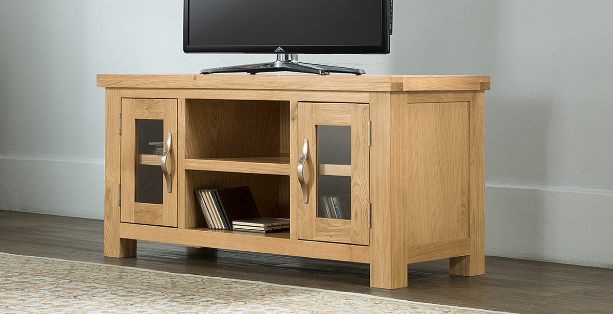 Light Wood TV Units