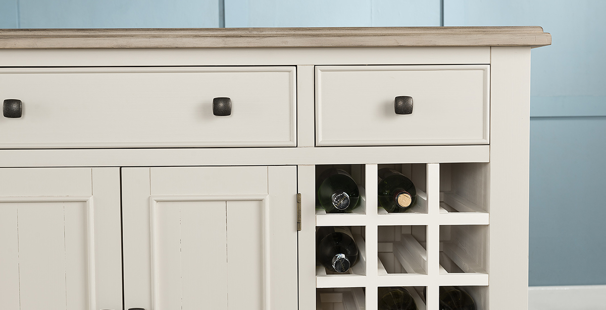 Painted Wood Wine Racks
