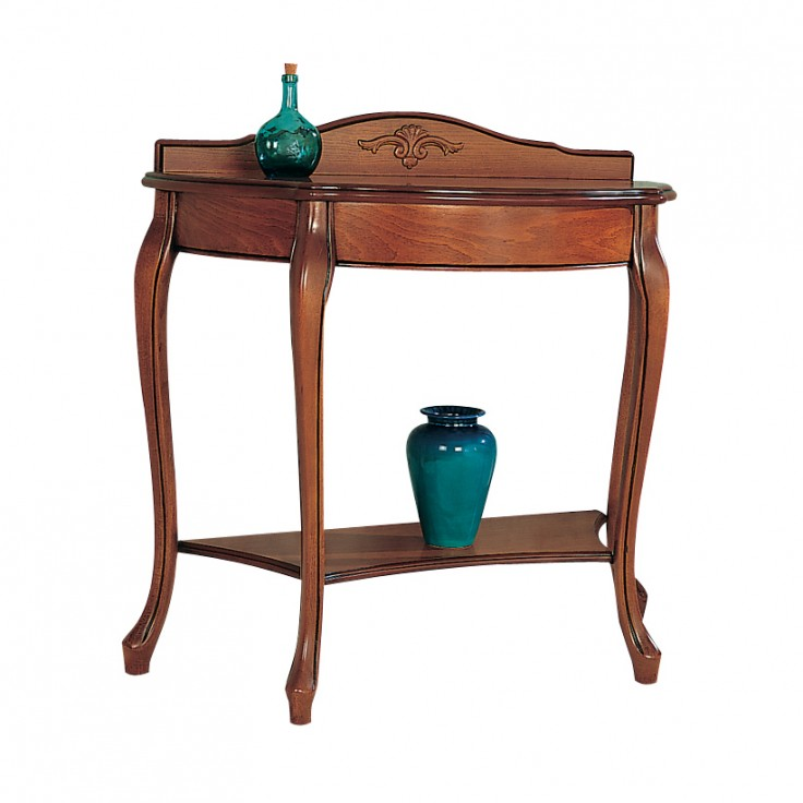Gola cherry small half round table michael o 39 connor for Round table 99