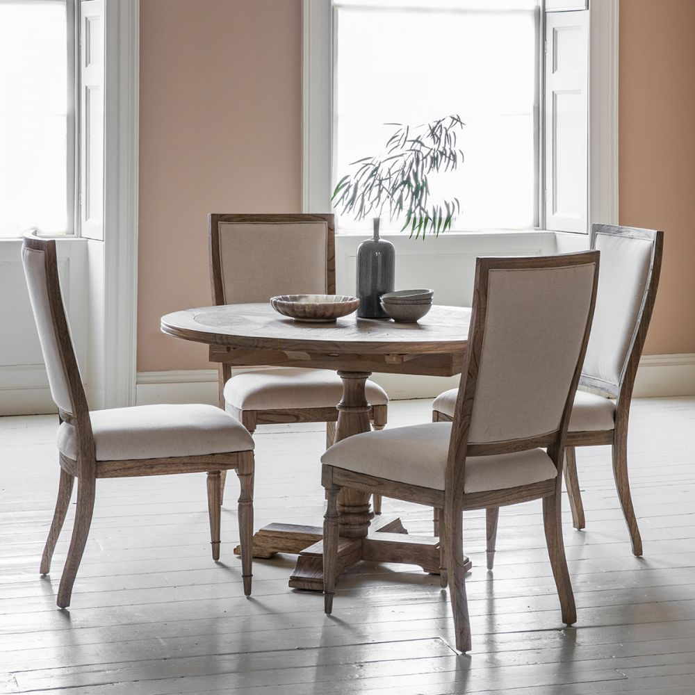 Frank Hudson Mustique Round Ext Dining, Hudson Dining Room Furniture