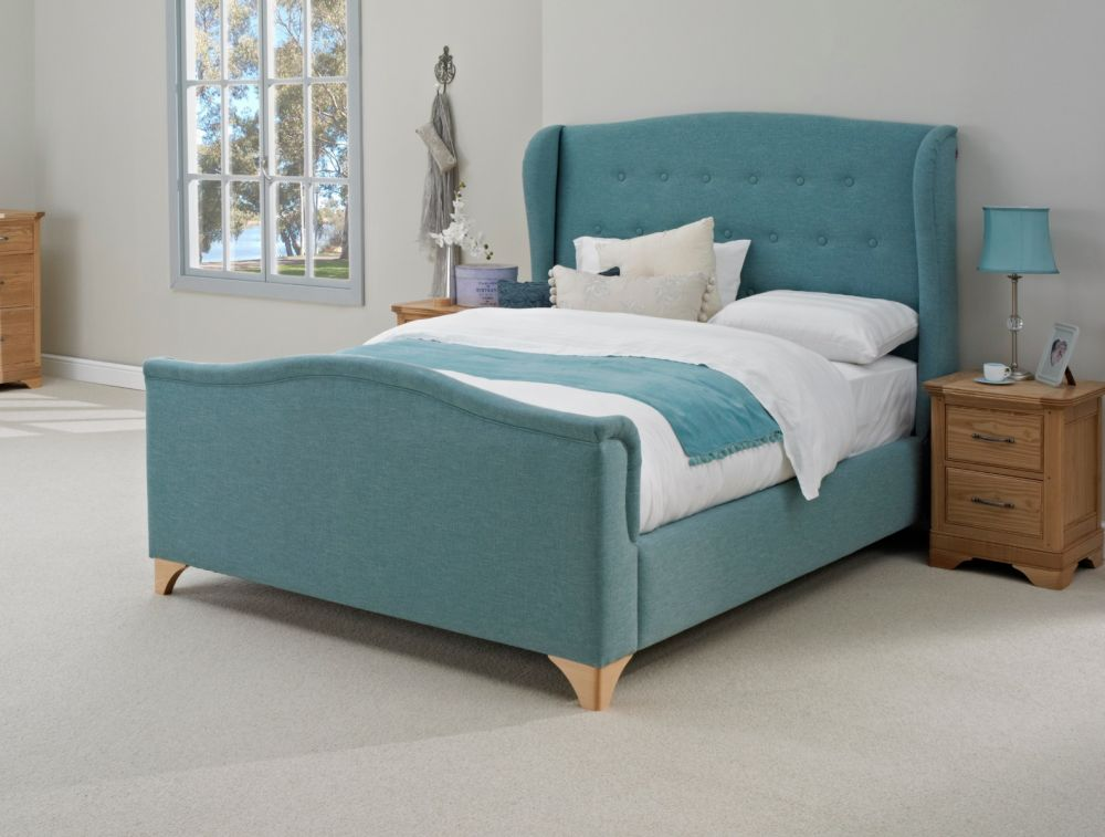 Furmanac Hestia Belmont Fabric Bed Frame | Michael O\'Connor Furniture