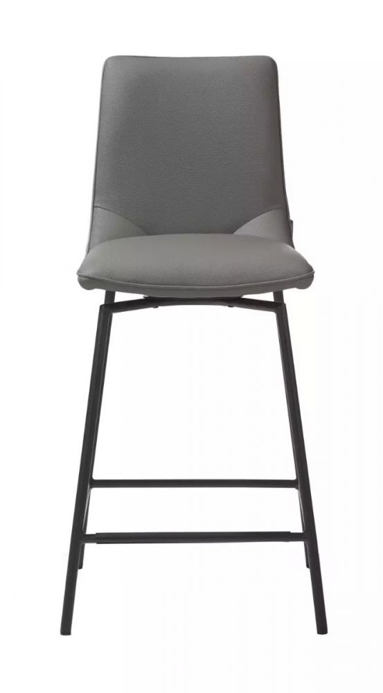 Incredible Davy Barstool Taupe Black Legs Ibusinesslaw Wood Chair Design Ideas Ibusinesslaworg