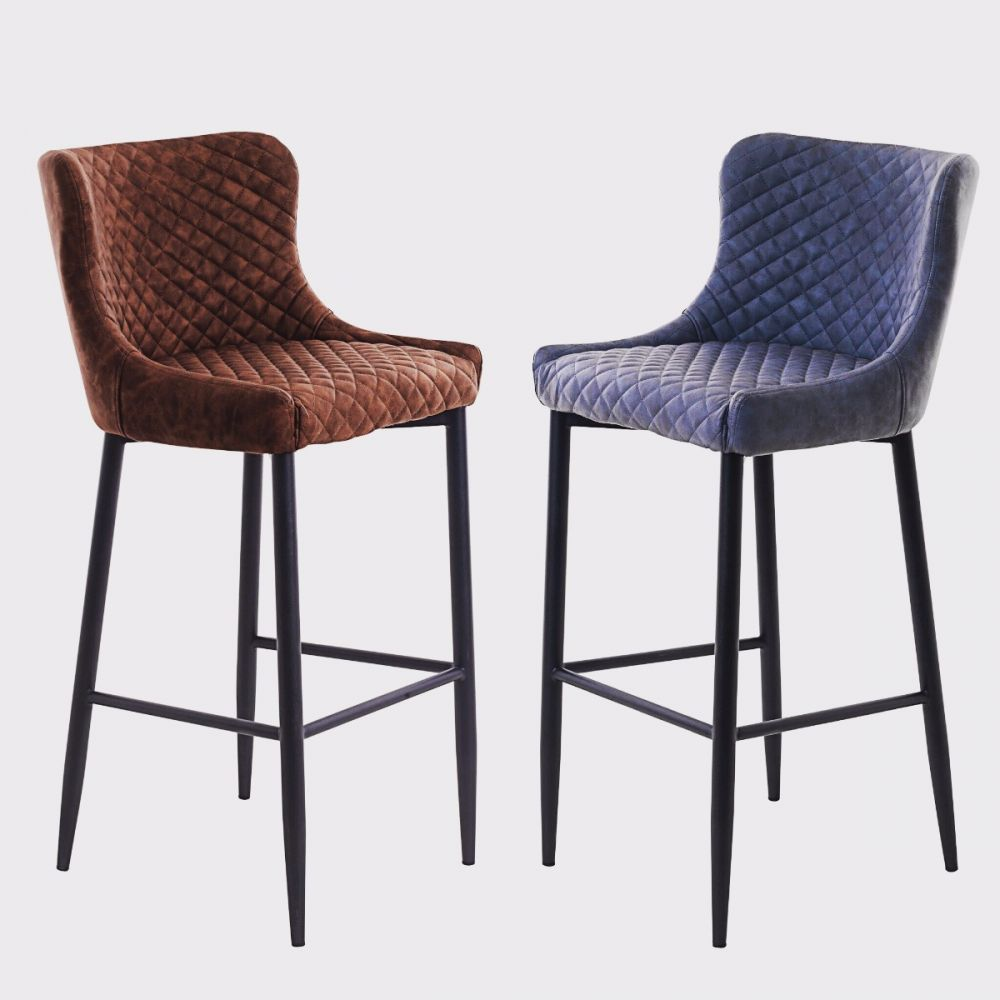 Unique otto faux leather bar stool michael oconnor furniture