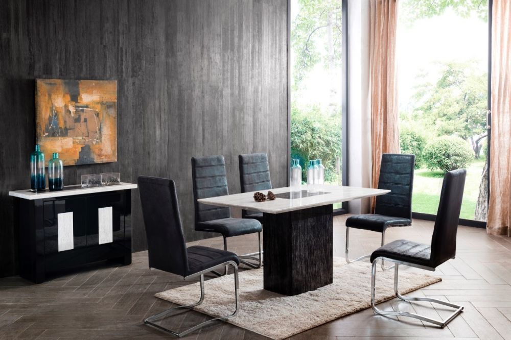 Alfrank Jenson Marble Dining Table Michael O Connor Furniture