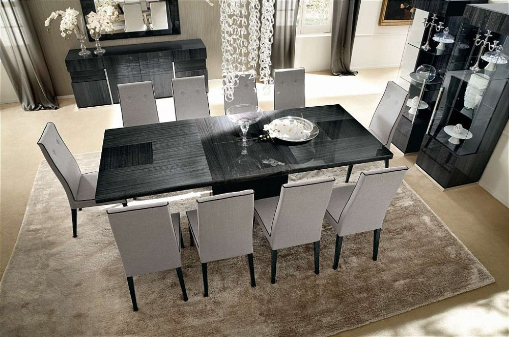 Alf Montecarlo Large Extending Dining Table Michael O Connor Furniture