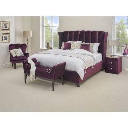 Furmanac Hestia Arabella Fabric Bed Frame Michael O