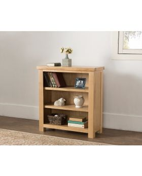 Michael O'Connor Valencia Low Oak Bookcase
