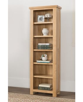 Michael O'Connor Valencia Slim Oak Bookcase