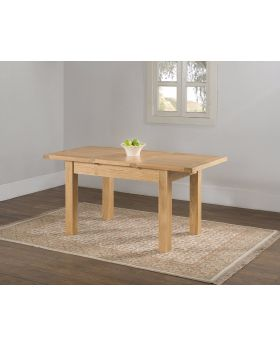 Michael O'Connor Valencia Butterfly Extension Oak Dining Table