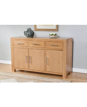 Michael O'Connor Lucerne 3 Door 3 Drawer Oak Sideboard