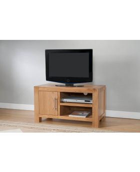 Michael O'Connor Lucerne 1 Door Oak TV Unit