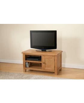 Michael O'Connor Shrewsbury Oak Standard TV Unit