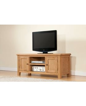 Michael O'Connor Shrewsbury Large Oak TV Unit