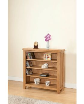 Michael O'Connor Shrewsbury 3' Oak Bookcase