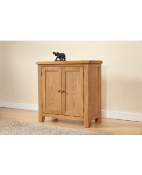 Michael O'Connor Shrewsbury Small 2 Door Oak Cabinet