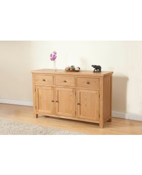 Michael O'Connor Shrewsbury 3 Door Oak Sideboard