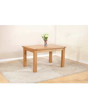 Michael O'Connor Shrewsbury Oak Dining Table with 2 Extensions