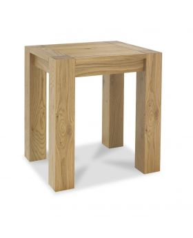 Turin Light Oak Lamp Table