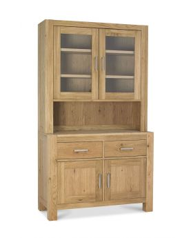 Turin Light Oak Glazed Dresser