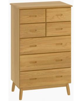 Malmo 4 Over 3 Tall Chest