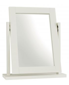 Bentley Designs Atlanta White Vanity Mirror