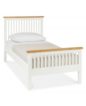 Bentley Designs Atlanta Two Tone 90Cm High Footend Bedstead