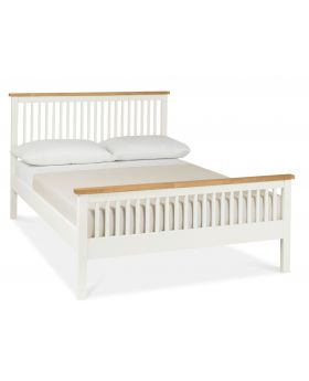 Bentley Designs Atlanta Two Tone 150Cm High Footend Bedstead
