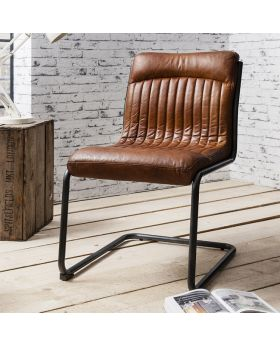 Frank Hudson Capri Leather Chair
