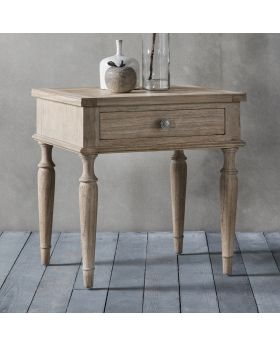 Frank Hudson Mustique 1 Drawer Side Table