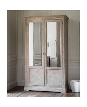 Frank Hudson Mustique 2 Mirror Door Wardrobe