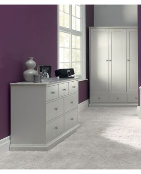 Bentley Designs Ashby Cotton Triple Wardrobe