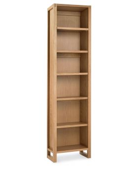 Bentley Designs Studio Oak Single Bookcase