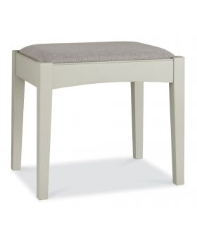 Bentley Designs Hampstead Soft Grey & Pale Oak Stool
