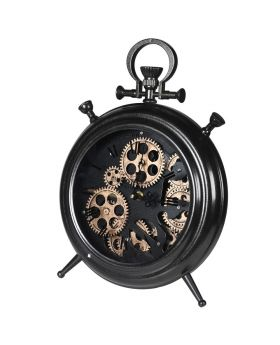 Gears Mantle Clock
