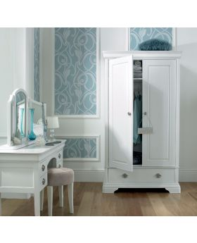 Bentley Designs Chantilly White Double Wardrobe