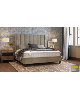 Furmanac Alexander Ottoman Upholstered Bed Frame