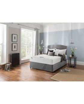 Silentnight Sapphire Miracoil 750 Amber Divan Bed Set