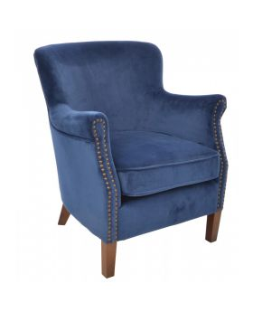 Ancient Mariner Cromarty Navy Armchair