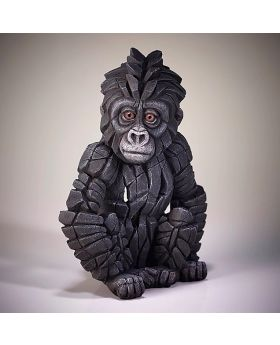 Edge Sculpture Baby Gorilla
